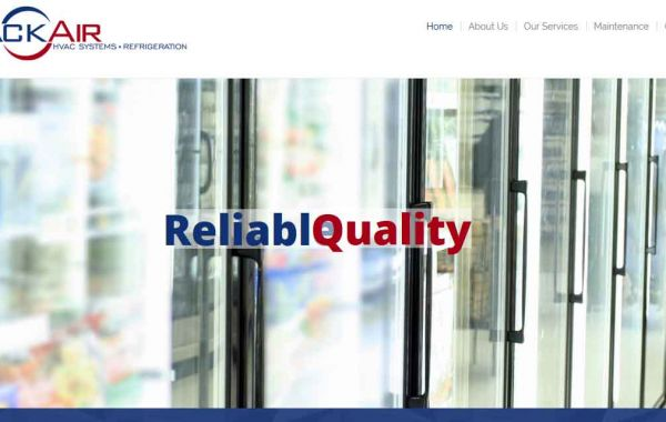 Website Design Kingston | Portfolio | Rack Air HVAC Systems