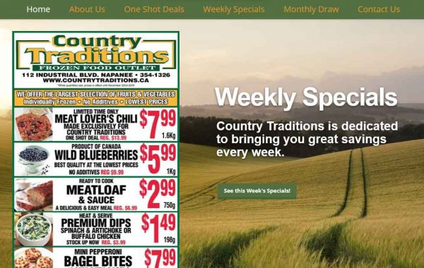 Website Design Kingston | Portfolio | Country Harvest