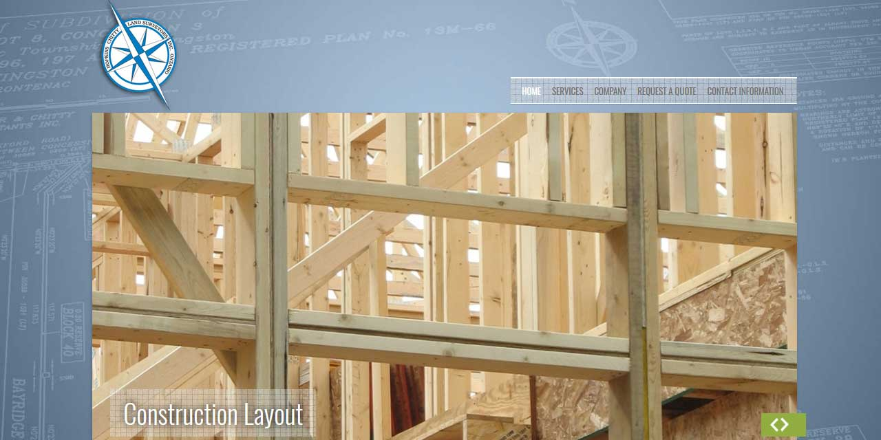 Website Design Kingston | Portfolio | Hopkins Chitty Land Surveyors