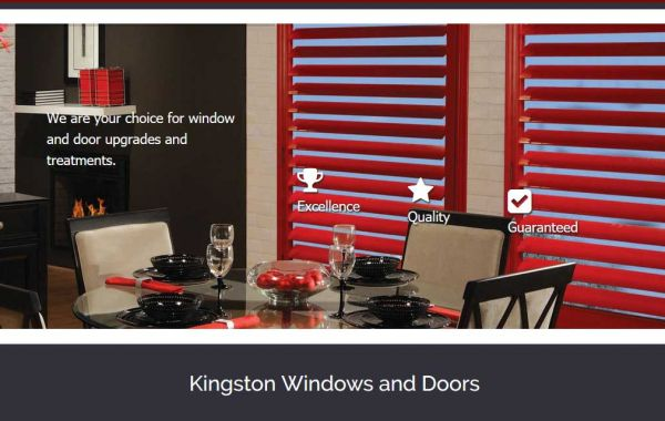 Website Design Kingston | Portfolio | Kingston Windows and Doors