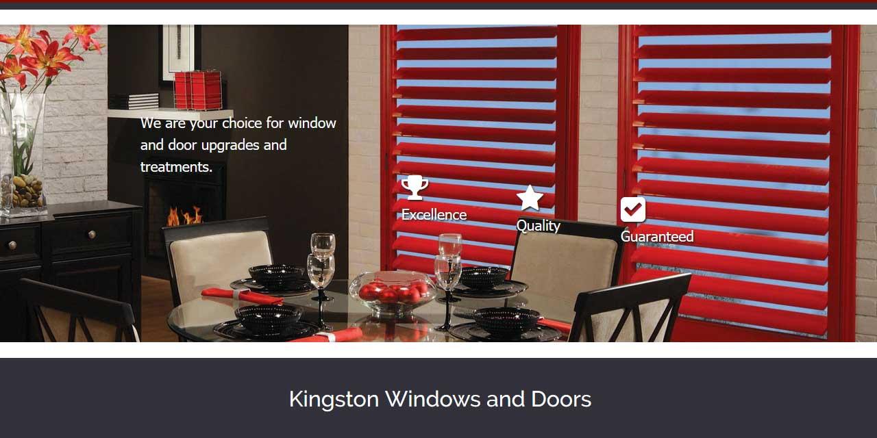 Website Design Kingston | Portfolio | Kingston Windows and Doors