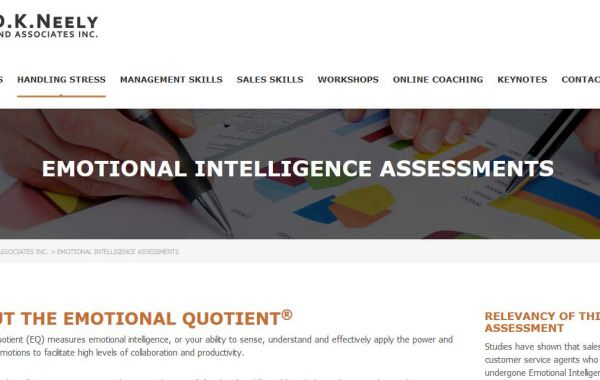 Website Design Kingston | Portfolio | DAve Neely Corporate Training