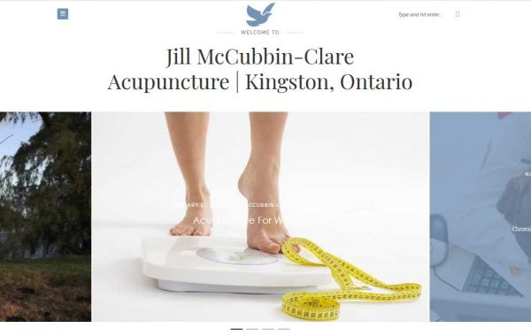 Website Design Kingston | Portfolio | Jill McCubbin Acupuncture Clinic
