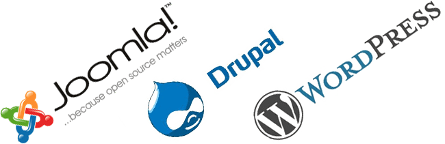 why choose content management systems like wordpress joomla or drupal