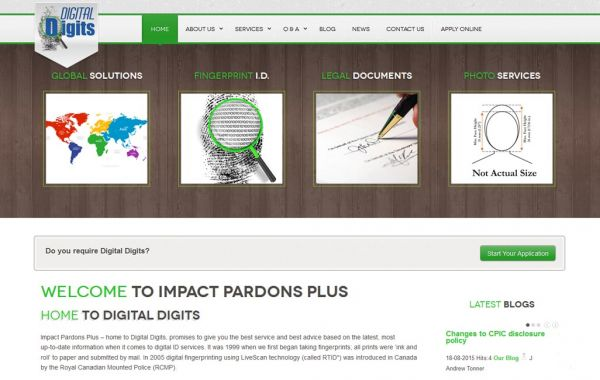 Web Design Kingston | Our Portfolio | Impact Pardons Plus