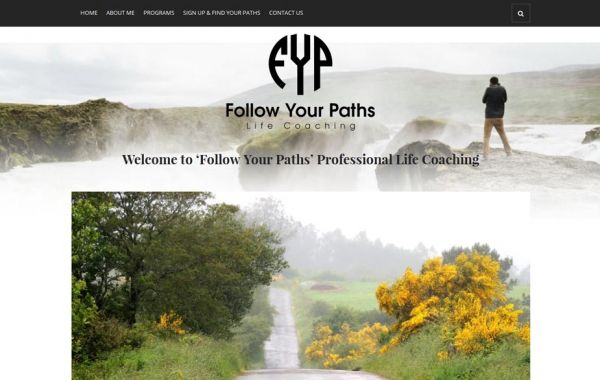 Web Design Kingston | Our Portfolio | Follow Your Paths Life Coaching