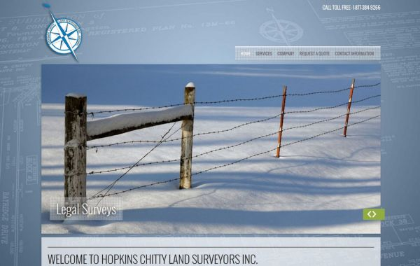 Web Design Kingston | Our Portfolio | Hopkins Chitty Land Surveyors