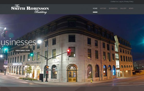Web Design Kingston | Our Portfolio | The Smith Robinson Building
