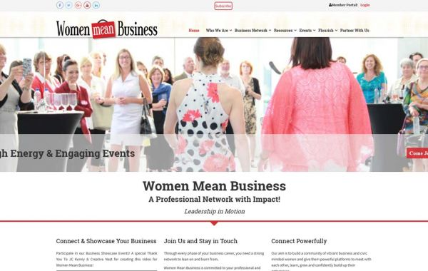 Web Design Kingston | Our Portfolio | Women Mean Business