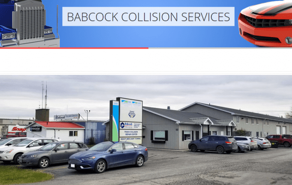 Web Design Kingston | Our Portfolio | Babcock Collision Services