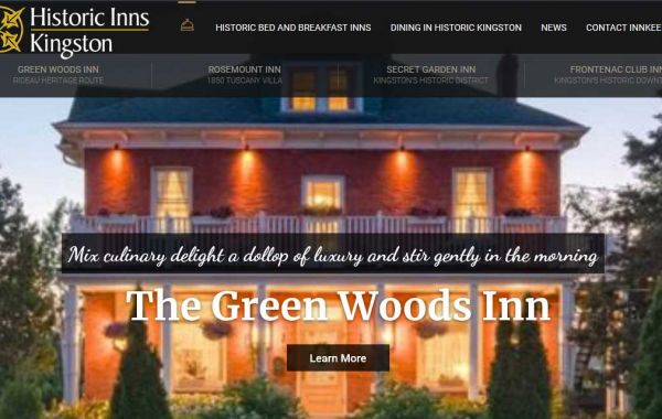 Website Design Kingston | Portfolio | Historic Inns Kingston