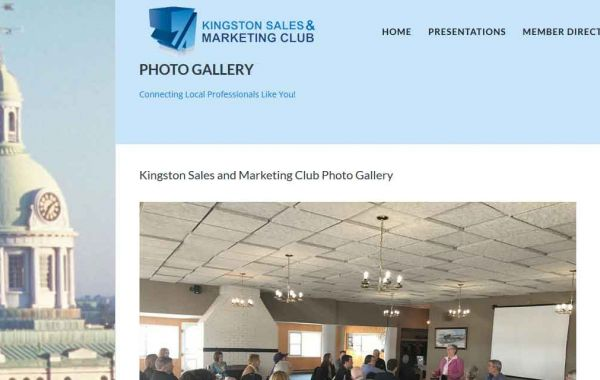 Website Design Kingston | Portfolio | Kingston Sales and Marketing Club