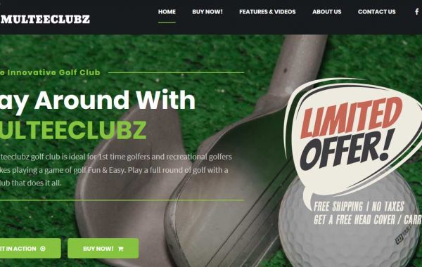 Website Design Kingston |Portfolio | MulteeClubz Golf Club
