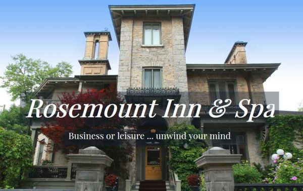 Web Design Kingston | Our Portfolio | Rosemount Inn & Spa