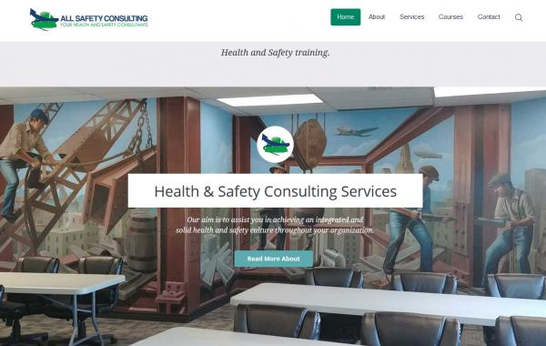 Website Design Kingston | Portfolio | All Safety Consulting