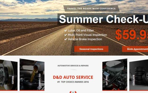 Website Design Kingston | Portfolio | D&D Auto