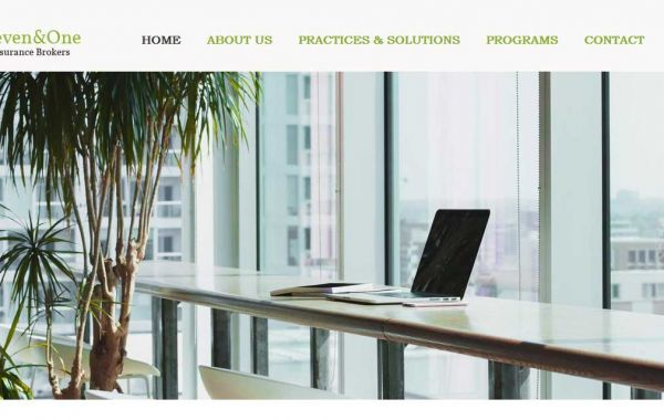 Website Design Kingston | Portfolio | Seven & One Insurance