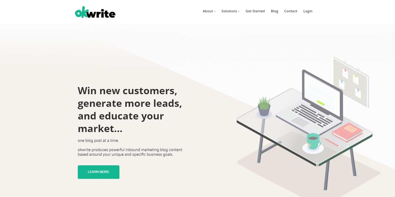 OK Write   Website Design Kingston