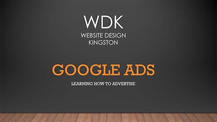 Google Ads   Website Design Kingston