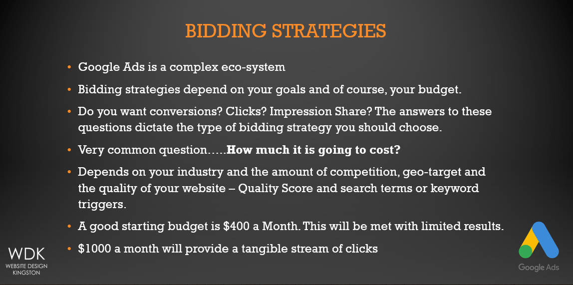 Bidding Strategies | Google Ads