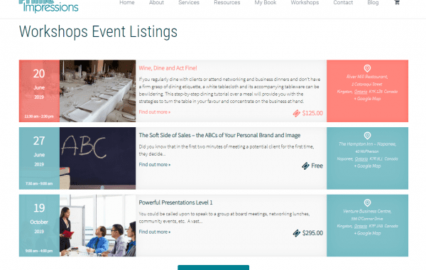 Prime Impressions | Website Design Kingston Project