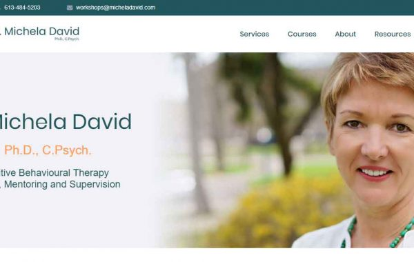 Michela David Therapy Training