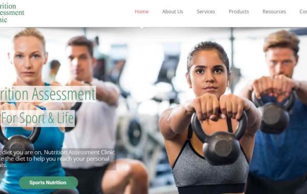 Website Design Kingston Portfolio Image of Nutrition Assessment Clinic