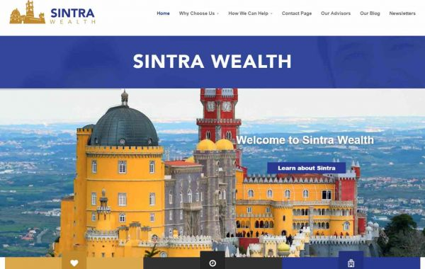 Website Design Kingston Portfolio Image of Sintra Wealth