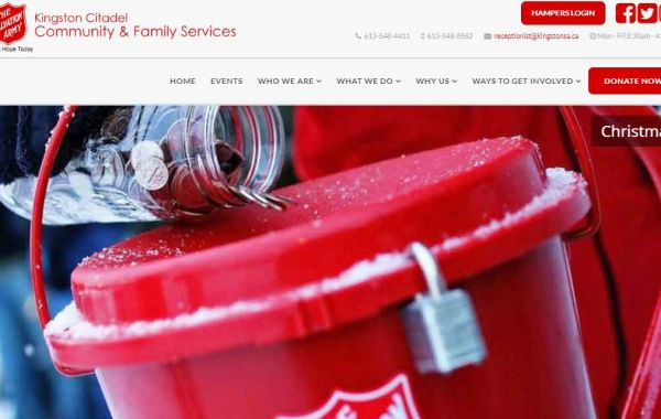 Portfolio | Salvation Army