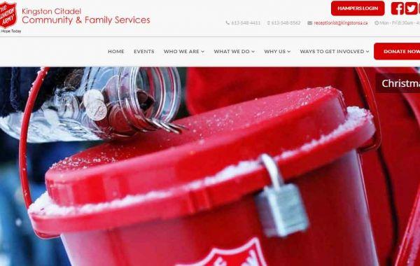 Portfolio | Salvation Army