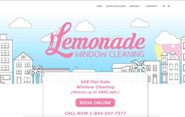 Lemonade Window Cleaning