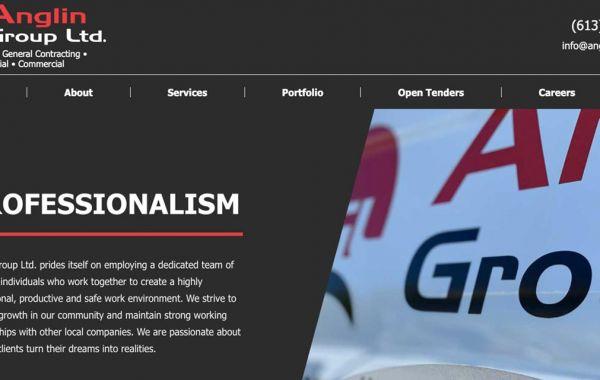 Anglin Group Ltd. Homepage