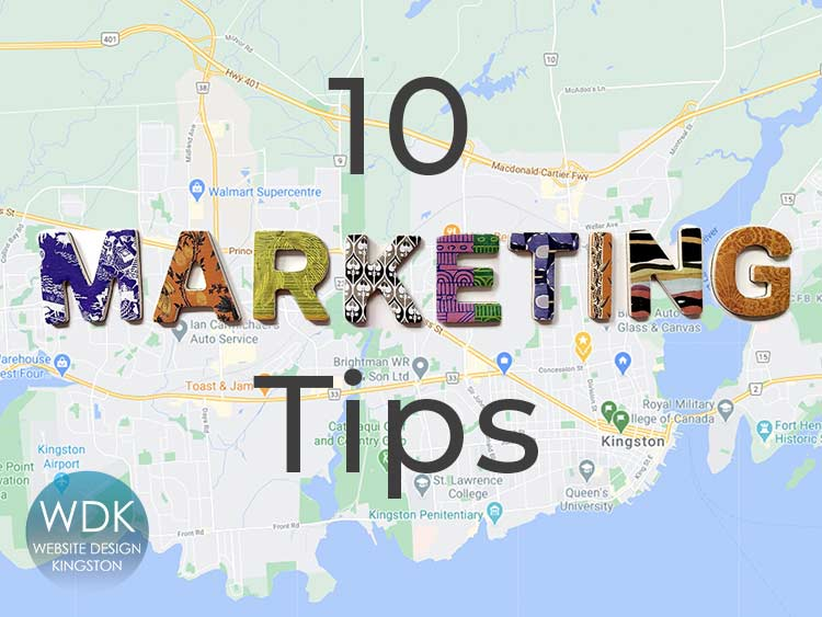 10 Marketing Tips for Small Business