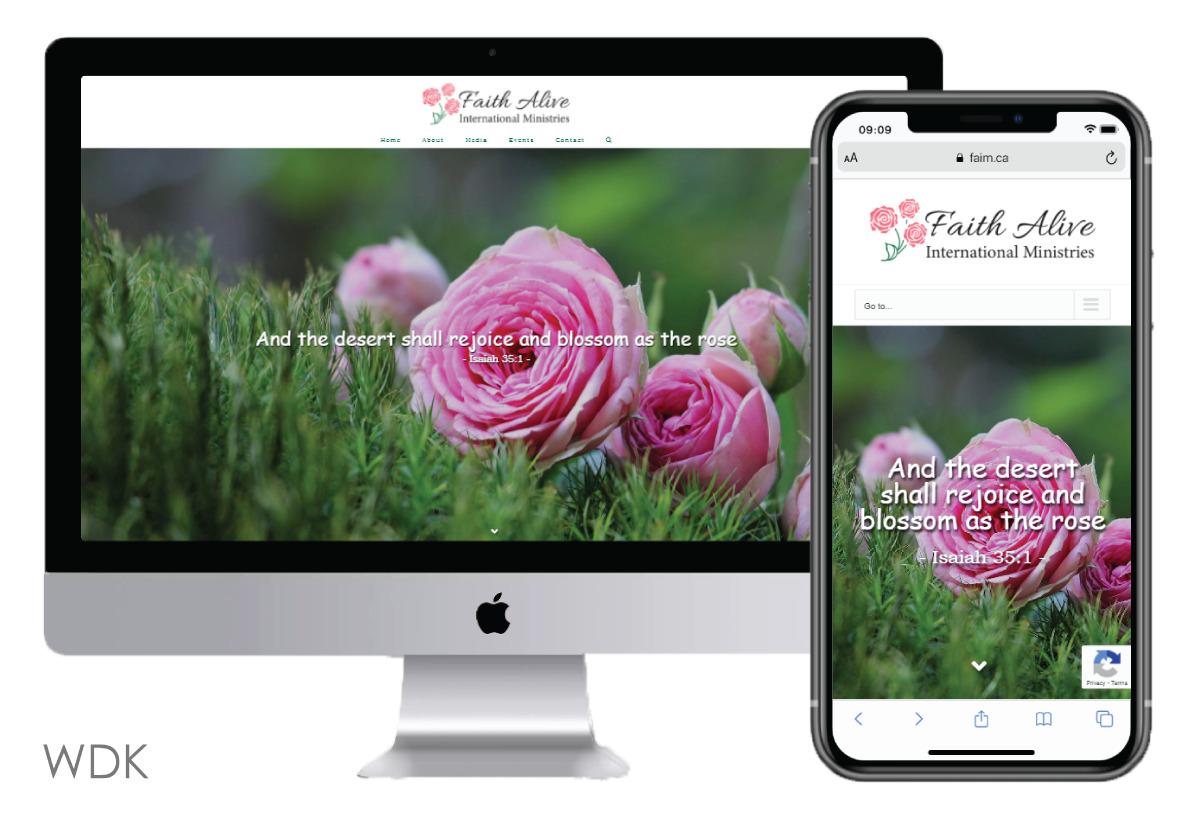 new website in WDK portfolio
